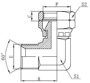 BSP طراحی اتصال دهنده آرنج