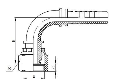 طراحی یک شیلنگ یک قطعه