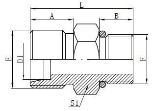 SAE O-ring حلقه شلنگ طراحی